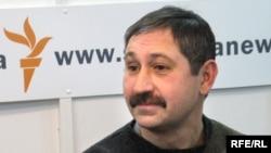 Александр Гольц в студии Радио Свобода