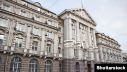 Здание Совета безопасности Украины (СБУ) в Киеве.