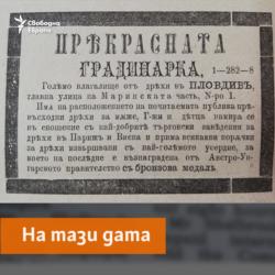 Maritza Newspaper, 13.03.1881