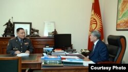 Улан Исраилов и Алмазбек Атамбаев.