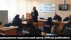 Встреча представителя РПЦ с сотрудниками МВД Новосибирской области