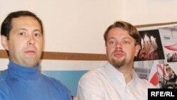 Зьлева направа: Віктар Падчыненкаў, Вадзім Саранчукоў