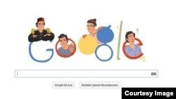 Google-in Kemal Sunal-ın 70 illiyi ilə bağlı hazırladığı doodle