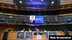 Evropski komesar za susedsku politiku i proširenje Oliver Varhelji