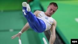 Український гімнаст Олег Верняєв