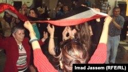 جانب من حفل جمعية الأمل العراقية
