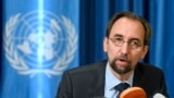 BMG-niň adam hukuklary boýunça baş komissary Zeid Raad al Hussein