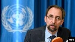 UN High Commissioner for Human Rights Zeid Ra'ad al-Hussein