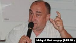 Издатель Александр Краснев. Алматы, 6 сентября 2013 года