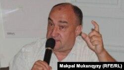 Баспагер Александр Краснев. Алматы, 6 қыркүйек 2013 жыл