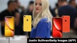 Прэзэнтаваныя iPhone XS i iPhone XR у тэатры Стыва Джобса