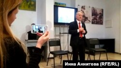 Мустафа Джемилев, вечер памяти Петра Григоренко, Киев, 20 октября