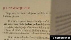 Hrvatska: Rat crkve i vlasti oko zdravstvenog odgoja