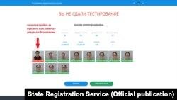 Образец работы новой системы биометрической идентификации на экзамене по вождению. Фото ГРС КР.