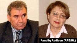Cəmil Həsənli və Leyla Yunus
