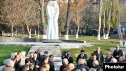 «Միացյալ Խաչ» արձանի բացման արարողությունը, 2-ը դեկտեմբերի, 2013թ․