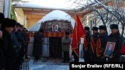 Полковник Толкунбек Шоноевди акыркы сапарга узатуу, Ош, 13-январь, 2013