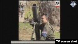 Snimka ispaljivanja minobacača 120mm