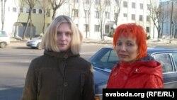 Крысьціна Шацікава (праваруч), Марыя Вайнова (леваруч)