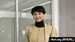 Главный редактор прекратившего свою деятельность в 2014 году независимого веб-сайта Uznews.net Галима Бухарбаева.