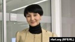 Журналистка из Узбекистана Галима Бухарбаева.