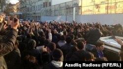 Bakıda etiraz aksiyası - 12 yanvar 2013