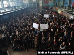 Radnički protesti u 2011. bili su česta pojava