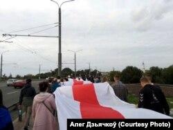 «Марш герояў» у Магілёве, 13 верасьня
