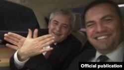 Kryetari i BDI-së, Ali Ahmeti, dhe zv.kryeministri për çështje evropiane, Bujar Osmani - foto nga arkivi.