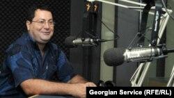 Главный редактор журнала «Арсенали» Ираклий Аладашвили