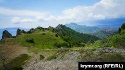 Карад-Даг, Крим