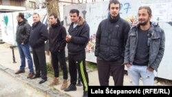 """Protest članova grupe """"Alternativa"""""""