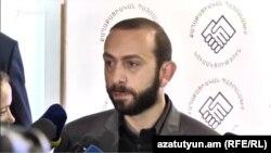 Председатель Национального собрания Армении Арарат Мирзоян, 16 июня 2019 г.