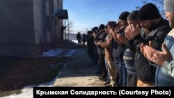 Прощание с Али Кадыровым в Симферополе, 25 февраля 2019 года
