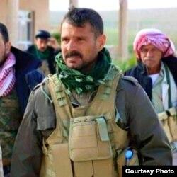 Yazidi military commander Haider Shesho