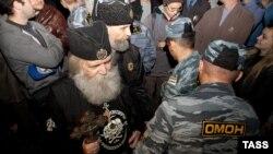Акция православных активистов против исламского центра в московском районе Митино, 2012 год