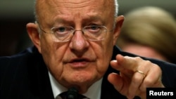 "U.S. Director of National Intelligence James Clapper said intelligence agencies had not sanctioned the account as ""reliable."""