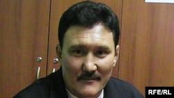 Болат Арынғазиев, 1986 жылғы Желтоқсан оқиғасына қатысушы. Ақтөбе, 10 желтоқсан 2009 жыл.