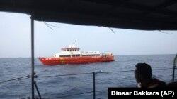 Spasilački brod u potrazi za telima iz srušenog aviona