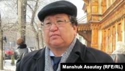 Оппозициялық белсенді Серік Сапарғали. Алматы, 3 наурыз 2011 жыл.