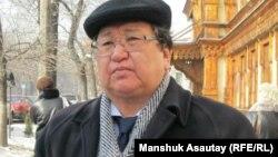 Серік Сапарғали. Оппозиция белсендісі. Алматы, 3 наурыз 2011 жыл.