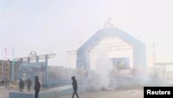 Беспорядки в Жанаозене. 16 декабря 2011 года.