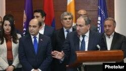 ԼՀ, ՔՊ և «Հանրապետություն» կուսակցությունները համագործակցության հուշագիր ստորագրեցին