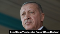 Президент Турции Реджеп Эрдоган (архив)