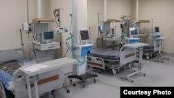 Оборудование в кыргызско-турецкой больнице в Бишкеке.