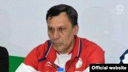 Хаким Фузайлов подал в отставку с поста главного тренера сборной Таджикистана по футболу. Фото с сайта ФФТ