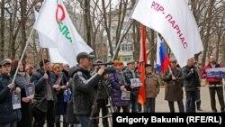Акция памяти Бориса Немцова в Ростове-на-Дону, 27 февраля 2016 года