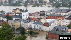 Наводнение в Пассау