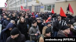 «Марш недармаедаў» у Менску 15 сакавіка