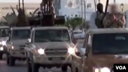 Одна из автоколонн исламистов (архивное фото)